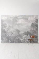 Anthropologie Etched Arcadia mural wallpaper