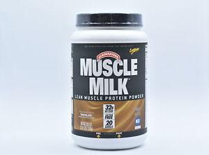 Muscle Milk Genuine 32g Protein Powder, Chocolate Flavor, 2.47lbs, EXP: 12/2021