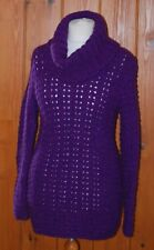 BN, Rowan, Ladies, Purple, Casual, Cowl Neck, Jumper, Dress, size 14