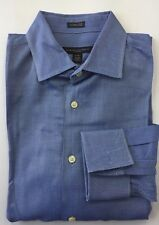 Banana Republic Men Dress Shirt French Cuff Egyptian Cotton 15-15 1/2 Fitted L/S