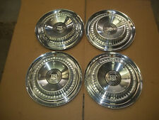 "1959 59 Buick Hubcap Rim Wheel Cover Hub Cap 15"" OEM USED SET 4 A2"