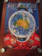 Grand Prix Australia / Adelaide / Formula One Motor Racing Poster 1988
