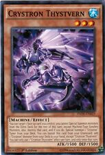 3X Crystron Thystvern-Common-INOV-EN019-NM- Yugioh Invasion: Vengeance
