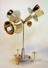 VINTAGE DANISH ATOMIC UFO SPACE TABLE LAMP 3 WAY LIGHT FIXTURE SPUTNIK ROBOT 60s