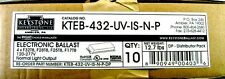 10x KTEB-432-UV-IS-NP T8 Fluorescent Ballast 4B Replaces Accupro AP-432IP-UNV-M