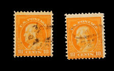 1921 US Postage Stamp / Ben Franklin / 10 Cents  /Scott 497 /Used /One Piece