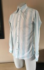 Men's TED BAKER Striped Shirt Size 2 - 40 Inch Chest