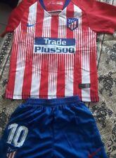 Camiseta Atlético De Madrid Equipación Completa Niño
