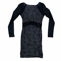 Lipsy Women's Mini Dress 10 Colour:  Black