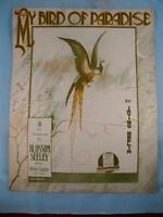 My Bird Of Paradise Antique Sheet Music 1915 My Honolulu Girl Irving Berlin (O)