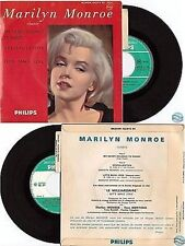 "MARILYN MONROE CHANTE my heart belongs france french 7"" 45T EP 432.812 BE +lang"