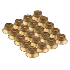 20 Pcs Left Handed Top Hat Speed Knobs Gold