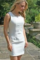 DICKINS & JONES Cream Tailored Fitted Shift Dress RRP £55