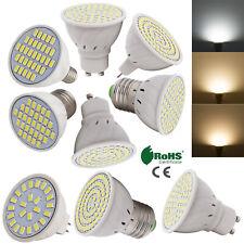 Dimmable GU10/MR16/E27 LED Spot Lights 2835/5730 SMD Bulbs 4W 5W 6W White Lamp