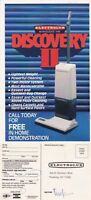 1960's ELECTROLUX DISCOVERY II UNUSED ADVERTISING COLOUR POSTCARD