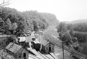 "1890-01 Railroad Station, Manunka Chunk, NJ Old Photo 13"" x 19"" Reprint"