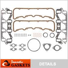 82-93 Chevrolet GMC 6.2L Diesel OHV Cylinder Gasket Set VIN C -w/o head gaskets