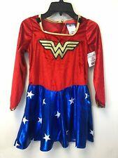Wonderwoman Child's Girl's Medium Halloween Costume, Dress Only, NWT
