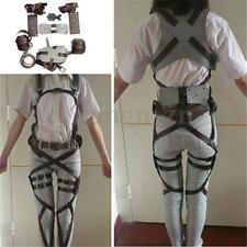 Cosplay Attack On Titan Adjustable Straps Shingeki no Kyojin Harness Belts Recon