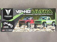 Vanquish Products VS4-10 Ultra Rock Crawler Kit w/Origin Half Cab Body Silver
