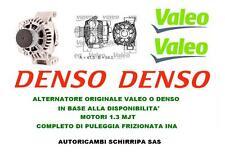 ALTERNATORE ORIGINALE FIAT LANCIA OPEL ALFA PUNTO GRANDE PUNTO 500 PANDA 1.3 MJT