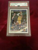 2018-19 Donruss Optic Lebron James Lakers Card #94 PSA 9 Mint!