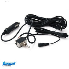 Toggle Switch with 12ft Wiring Harness for Exhaust Muffler Electric Valve Cutout