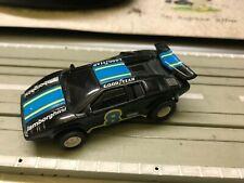 Faller AMS Aurora AFX Tyco Lamborghini Nr. 8 schwarz blau guter Zustand