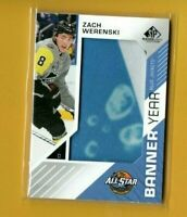 D11590 2018-19 SP Game Used Banner Year '18 All Star Game  Zach Werenski