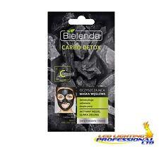 Bielenda Carbo desintoxicación Mascarilla Carbón Carbono Piel Mixta 8g (verde)