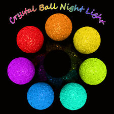 LED Mood Light Room Decor Lamp 7 Colors Changing Home Night Color Ball Shaped