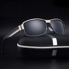 Mens Aluminum Polarized Driving Sunglasses Sports Mirrored Sun Glasses Eyewear
