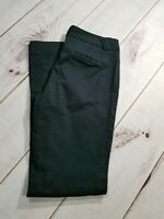 Banana Republic The Logan Fit Stretch Black Trousers Womens Size 10 Inseam 32""