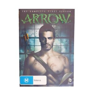 DC Green Arrow Season 1 DVD Region 4 AUS TV Series Free Postage - Action