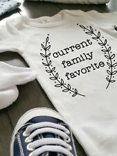 Current Family Favorite Baby Onesie - Funny & Cute Baby Clothes - Baby Shower