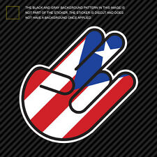 Puerto Rican Shocker Sticker Die Cut Decal Self Adhesive Vinyl pr rico