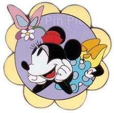 Disney Auctions Spring Minnie Mouse Le 100 Pin
