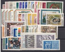 1974 Annata Repubblica Italiana francobolli nuovi gomma integra