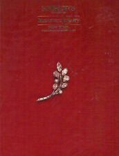 SOTHEBY'S JEWELS Cartier Van Cleef Webb Trabert  Schlumberger Templier 1986