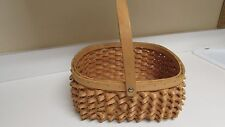 Unique Basket w/Porcupine Twist Wefts Made in China