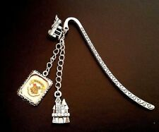 Harry Potter Inspired HOGWARTS Bookmark Charm,Perfect Gift for a fan of the book