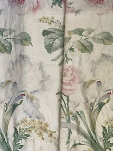 Vintage Ralph Lauren King Theresa Therese  Pillowcases X 2 Super Soft