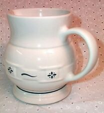 Longaberger Small Juice Pitcher Traditional Green Made in Usa