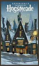 Harry Potter Experience The Magic of Hogsmeade Poster 11X17 Art Print
