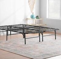 14/16/18 inch Platform Bed Frame Steel Slat Mattress FoundationTwin/Full/Queen