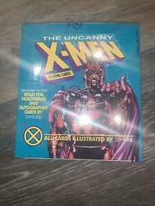 1992 Impel The Uncanny X-Men Trading Cards Magneto Teal In Sealed Box
