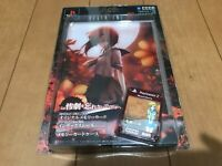 Playstation 2 PS2 Higurashi When They Cry Limited MemoryCard & Seal & Case HORI