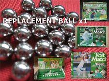 TEST MATCH Replacement Metal Steel Ball / Ballbearing - Peter Pan Cricket Game