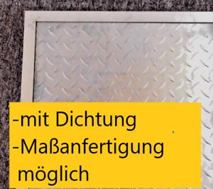 Schachtabdeckung verzinkt geruchsdicht wasserdicht dicht Dichtung geruch Deckel