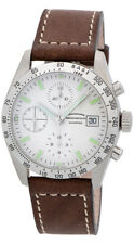 Eberhard & Co. Champion Chronograph Automatic Brown Leather Mens Watch 31044.01